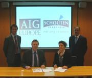 Volmacht AIG Europe voor Schouten Zekerheid