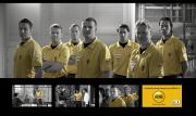 Arag-commercial met bekende scheidsrechters
