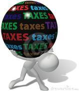 Belastingdruk in Nederland