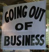 Vier financiële dienstverleners failliet