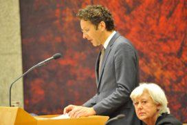 Dijsselbloem: 'AFM blijft afhandeling doorlopende kredieten in de gaten houden'