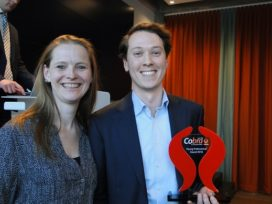 Stef Bank (Marsh) wint Cobra Young Professional Award