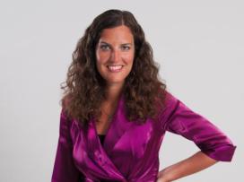 Natasja Naron geeft gelukstips op Nibudcongres
