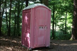 Fruitboer voor rechter wegens omwaaien toilet