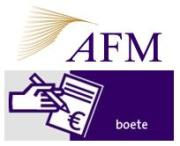 AFM gaat intern beleid over hoe boetes berekend worden online zetten
