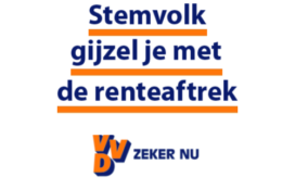 Woonconsument neigt naar stemt op VVD