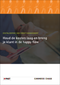 Digitalisering van creditmanagement