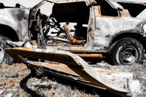 Steeds meer auto's gaan in vlammen op