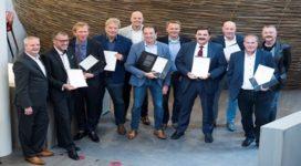 Certificaten tweede pre-master Risicomanagement 'de Ruimtemakers' uitgereikt