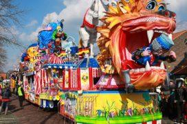 De carnavalsoptocht: agge mar leut het!