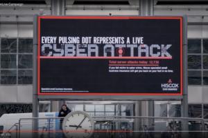 Nieuwe campagne Hiscox monitort cyberaanvallen realtime